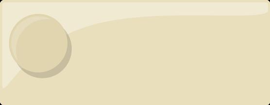 Färgprov på emaljfärgen elfenben