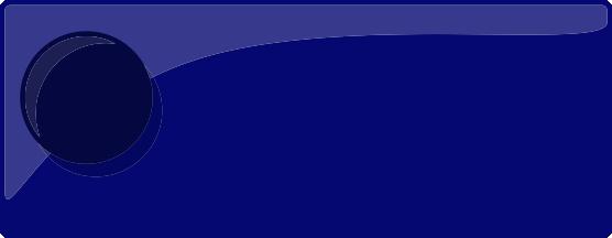 Färgprov på emaljfärgen nattblå.